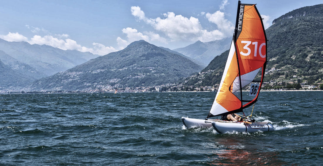 310 model MiniCat - the ultimate inflatable sailboat